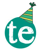 TE Circle Logo Party Hat 1