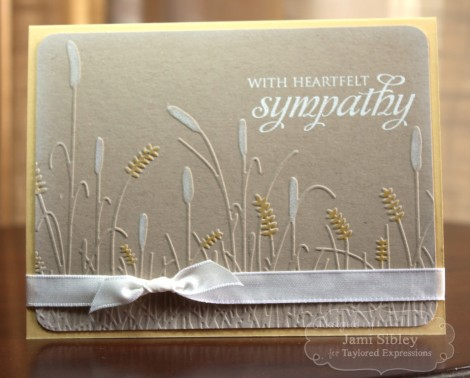 0Embossed sympathy Jami (Medium)