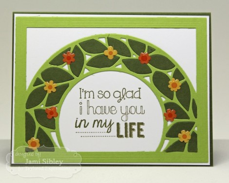 Jami wreath Spring so glad (Medium)