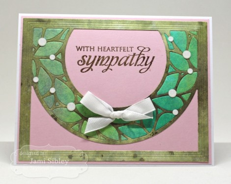 Jami wreath sympathy (Medium)