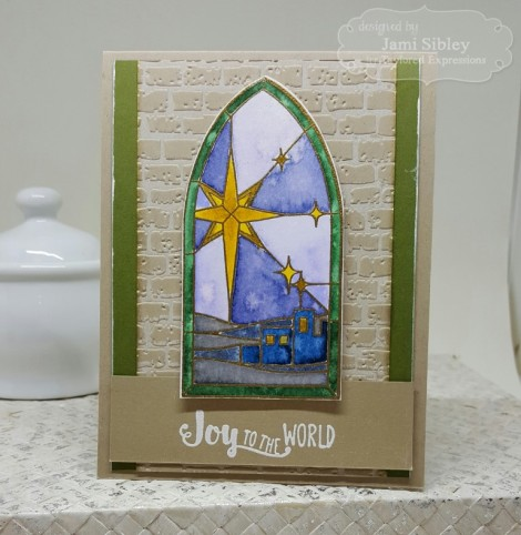 Jami zstained glass Joy (Medium)